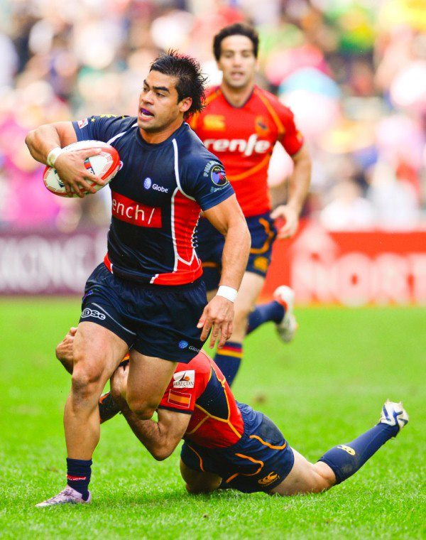 Matty Saunders at the Hong Kong 7s.